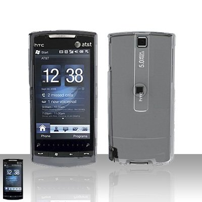 HTC Pure Clear Transparent Case Cover Snap on Protector