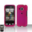 HTC Droid Eris S6200 Pink Case Cover Snap on Protector + Car Charger