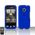HTC Droid Eris S6200 Blue Case Cover Snap on Protector + Car Charger