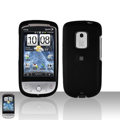 HTC Hero CDMA Black Case Cover Snap on Protector