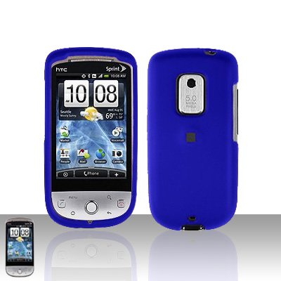 HTC Hero CDMA Blue Case Cover Snap on Protector
