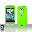 HTC Hero CDMA Neon Green Case Cover Snap on Protector + Car Charger