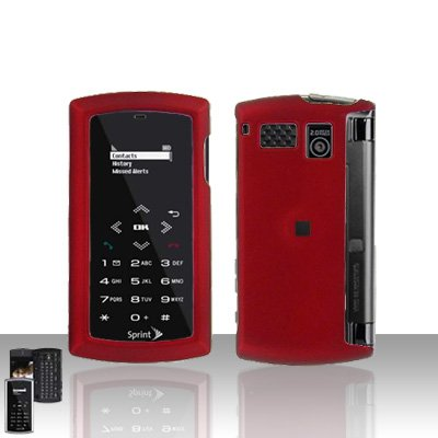 Sanyo Incognito 6760 Red Case Cover Snap on Protector