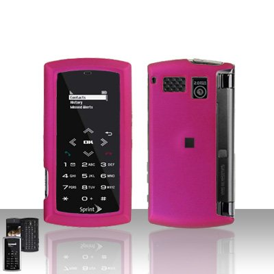 Sanyo Incognito 6760 Pink Case Cover Snap on Protector + Car Charger