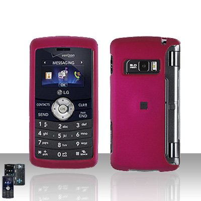 Pink Cover Case Rubberized  Snap on Protector for LG env3 VX9200