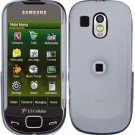 Clear Transparent Cover Case Snap on Protector for Samsung Calibur R850