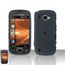 Carbon Fiber Cover Case Snap on Protector + Car Charger for Samsung Omnia 2 i920