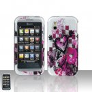 Arrow Heart Cover Case Snap on Protector + Car Charger for LG Arena GT950