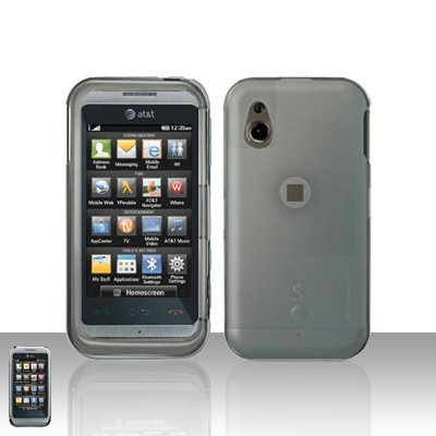 Clear Transparent Cover Case Snap on Protector for LG Arena GT950