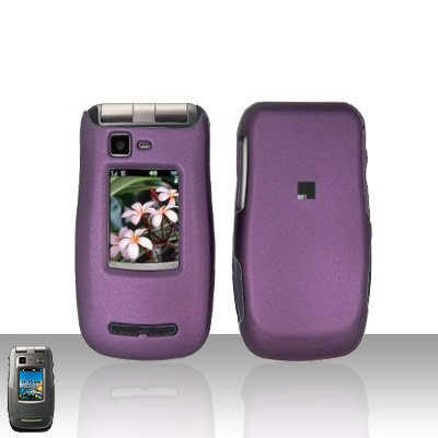 Purple Cover Case Snap on Protector for Motorola Quantico W845