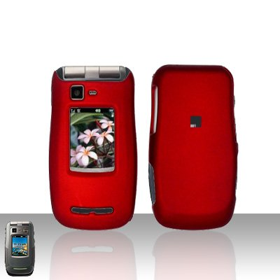 Red Cover Case Snap on Protector for Motorola Quantico W845