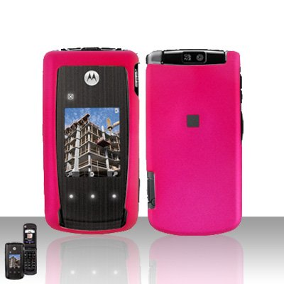Pink Cover Case Snap on Protector for Motorola Cabo i890