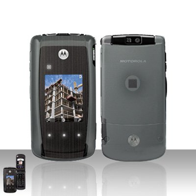 Clear Cover Case Snap on Protector for Motorola Cabo i890