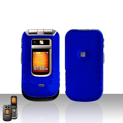 Blue Cover Case Snap on Protector for Motorola Brute i680