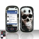 Skull Cover Case Snap on Protector for Samsung Seek M350