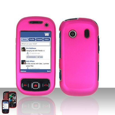 Pink Cover Case Snap on Protector for Samsung Seek M350
