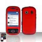 Red Cover Case Snap on Protector for Samsung Seek M350
