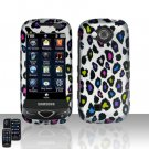 Color Leopard Cover Case Snap on Protector for Samsung Reality U820