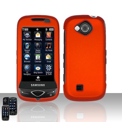 Orange Cover Case Snap on Protector for Samsung Reality U820