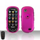 Pink Cover Case Snap on Protector for Samsung Sunburst A697