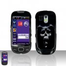 Hooded Skull Cover Case Snap on Protector for Samsung Calibur R850