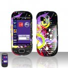 Colorful Music Cover Case Snap on Protector for Samsung Calibur R850