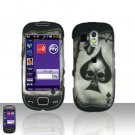 Spade Skull Cover Case Snap on Protector for Samsung Calibur R850