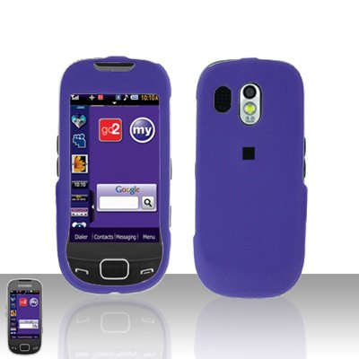 Purple Cover Case Snap on Protector for Samsung Calibur R850