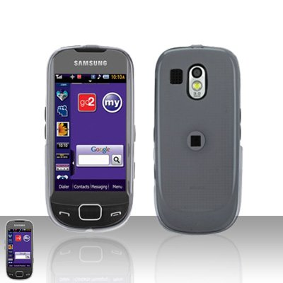 Clear Cover Case Snap on Protector for Samsung Calibur R850