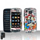 Dice Poker Cards Design Cover Case Snap on Protector for Samsung Impression A877