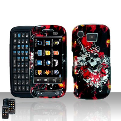 Clown Skull Cover Case Snap on Protector for Samsung Impression A877