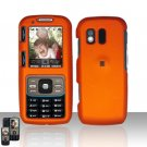 Orange Cover Case Snap on Protector for Samsung Rant M540