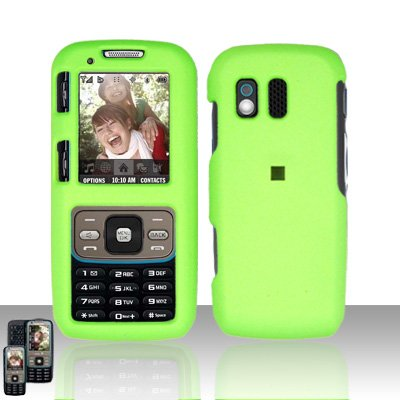 Neon Green Cover Case Snap on Protector for Samsung Rant M540