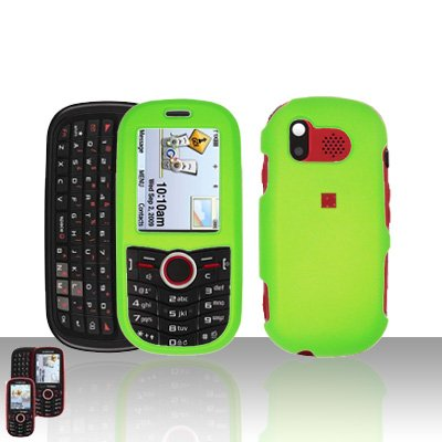 Neon Green Cover Case Snap on Protector for Samsung Intensity U450