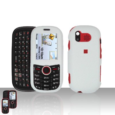 White Cover Case Snap on Protector for Samsung Intensity U450