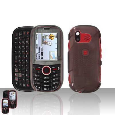 Smoke Cover Case Snap on Protector for Samsung Intensity U450
