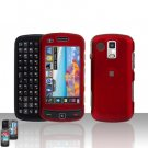 Red Cover Case Snap on Protector for Samsung Rogue U960