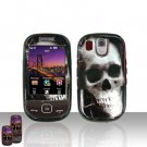 Skull Design Cover Case Snap on Protector for Samsung Flight A797