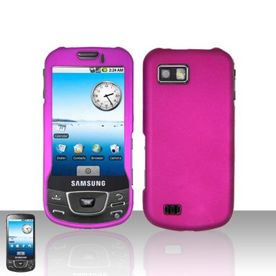 Purple Cover Case Snap on Protector for Samsung Galaxy i7500