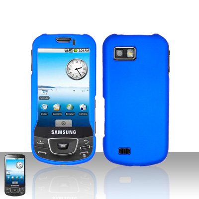 Blue Cover Case Snap on Protector for Samsung Galaxy i7500