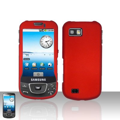 Red Cover Case Snap on Protector for Samsung Galaxy i7500