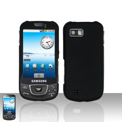 Black Cover Case Snap on Protector for Samsung Galaxy i7500