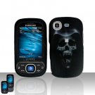 Hooded Skull Cover Case Snap on Protector for Samsung Strive A687