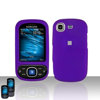 Purple Cover Case Snap on Protector for Samsung Strive A687