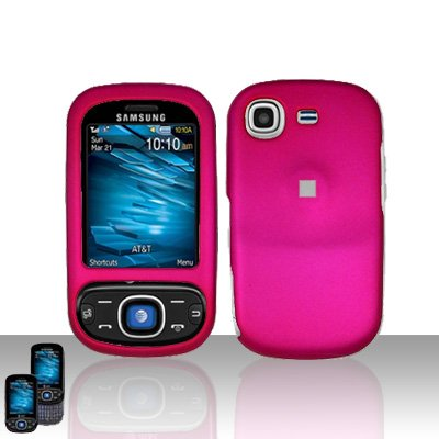 Pink Cover Case Snap on Protector for Samsung Strive A687