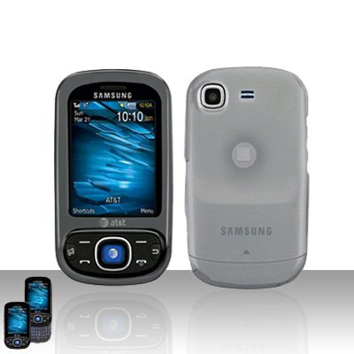 Clear Cover Case Snap on Protector for Samsung Strive A687