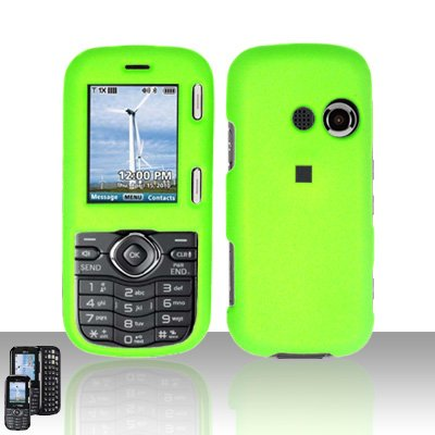 Neon Green Cover Case Snap on Protector for LG Cosmos VN250