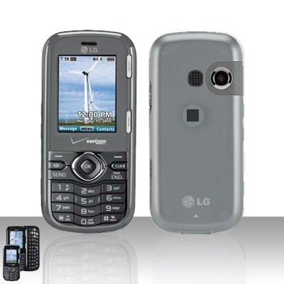 Clear Cover Case Snap on Protector for LG Cosmos VN250