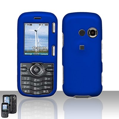 Blue Cover Case Snap on Protector for LG Rumor 2 LX265