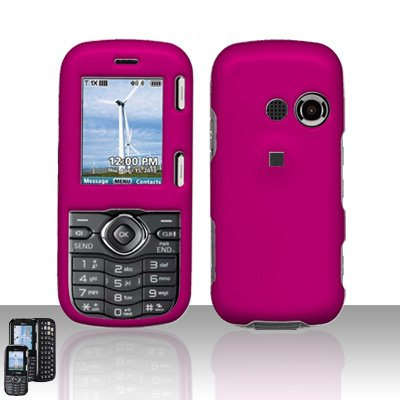 Pink Cover Case Snap on Protector for LG Rumor 2 LX265